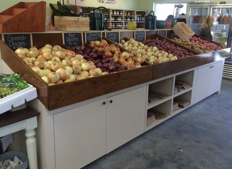 rustic-wood-farm-market-produce-bins-display-fruit-vegetables