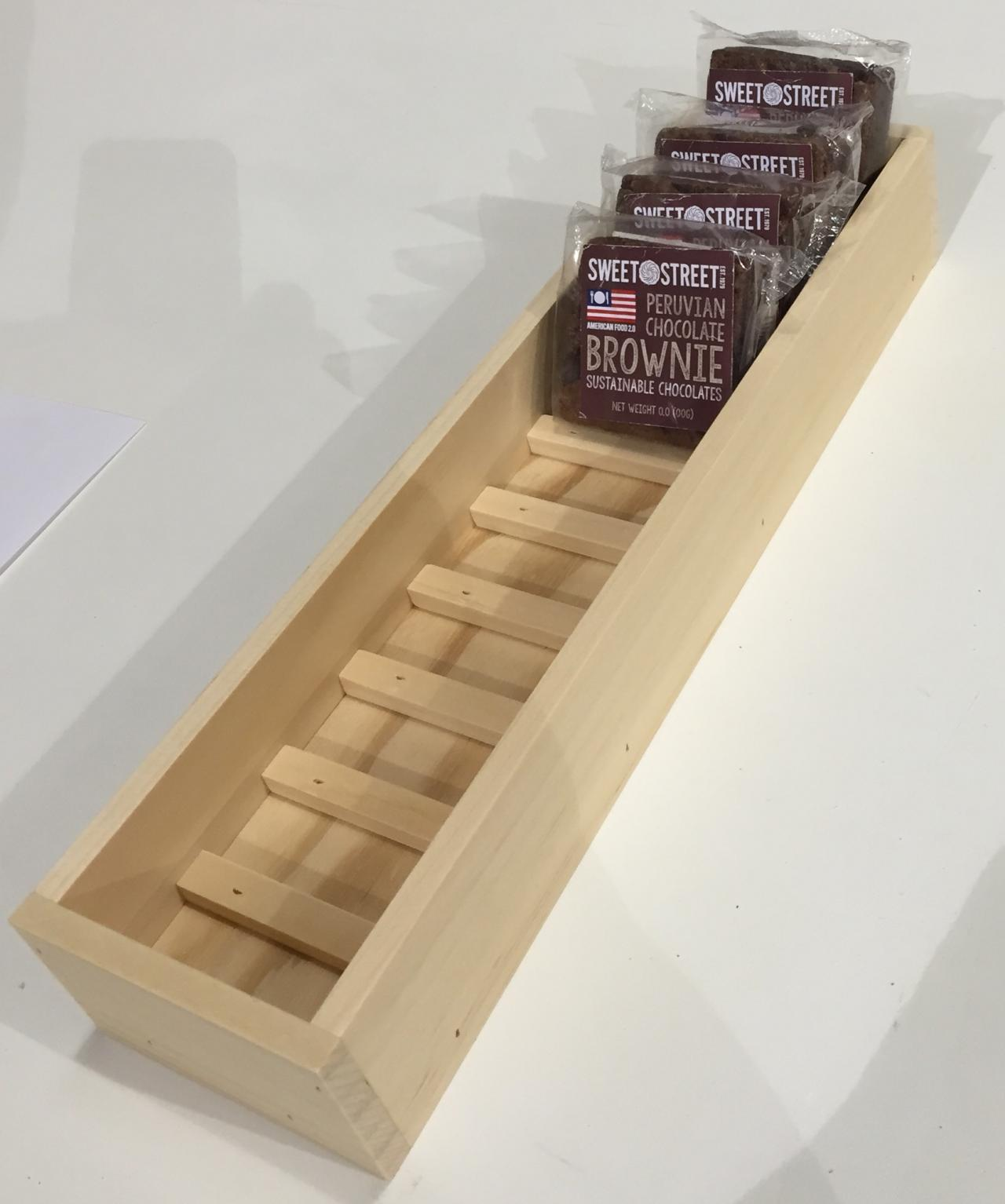 Rustic Wood Retail Store Product Display Fixtures